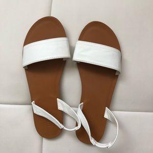 White Sandals forever 21